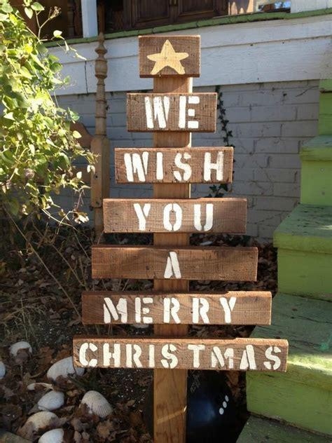 pallet christmas tree ideas creative diy christmas