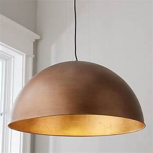 Industrial, Dome, Shade, Pendant, -, Large