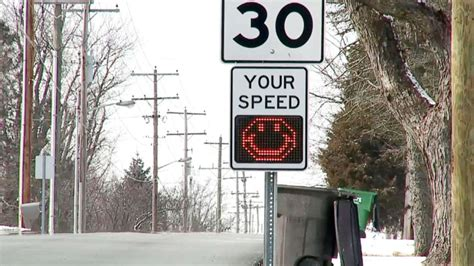 Sign Frowns On Speeding Drivers -- With An Emoji