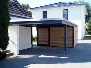 Einzelcarport Mit Abstellraum : moderne designcarports 2 carporthaus ~ Whattoseeinmadrid.com Haus und Dekorationen