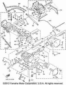 Yamaha Motorcycle 1999 Oem Parts Diagram For Carburetor