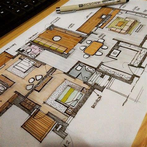 penthouse bedroom   bro atrezapurnama arquitetapage interior design sketches