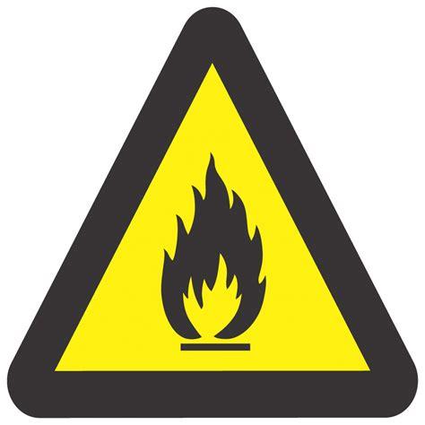 beware  fire hazard hazard warning safety sign