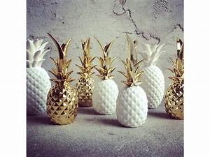Objet Deco Ananas : ananas design deko de l 39 eau ~ Teatrodelosmanantiales.com Idées de Décoration