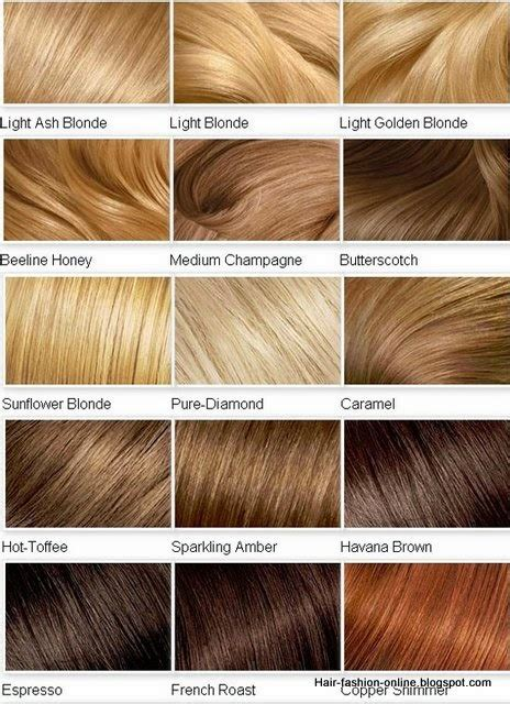 All Hair Colour Shades by Hair Color Shades Hairstyles Hair Color For
