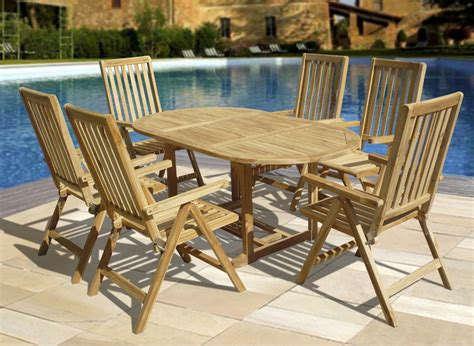 teak patio furniture ideas