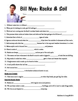 bill nye water cycle worksheet worksheets for all