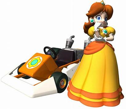 Ds Standard Daisy Mario Princess Kart Super