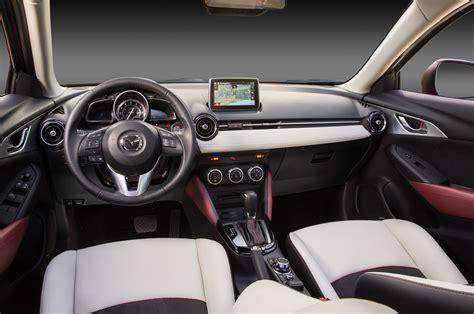 mazda cx 3 interior 2016 mazda cx 3 drive motor trend