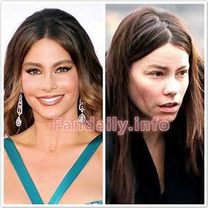 Celebrities No Makeup: Sofia Vergara Without Makeup Before ...