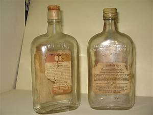 Two, Old, Whiskey, Bottles