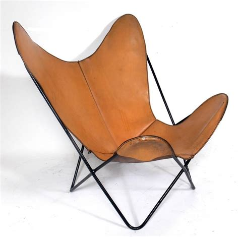 sculptural leather sling chair for sale at 1stdibs