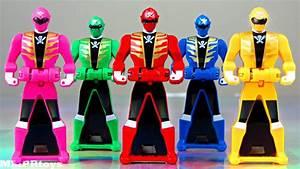 Yellow & Pink Ranger Keys! (Power Rangers Super Megaforce ...