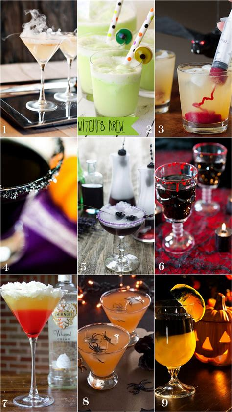 9 Spooky Halloween Cocktails! Pizzazzerie