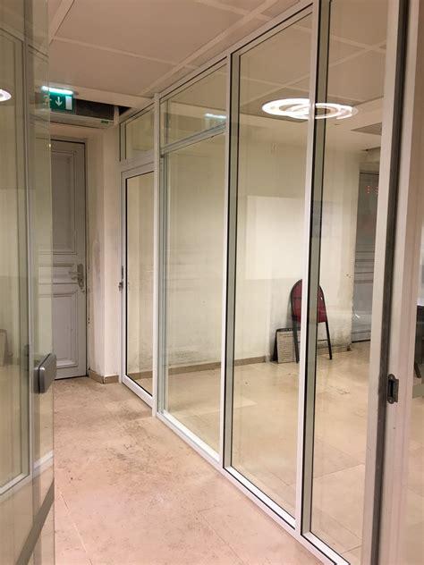 cloison vitr馥 bureau porte de bureau vitree 28 images les r 233 alisations de cloison de bureau m2 space ile de les cloisons vitr 233 es bord 224 bord toute