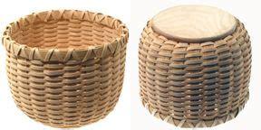 slotted base bowl kit basket weaving pine needle