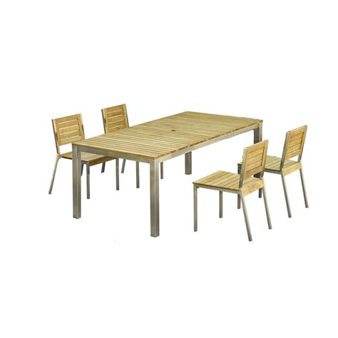 Bja Le De Table Salon De Jardin Robinox Bois Naturel 1 Table 200x100 2