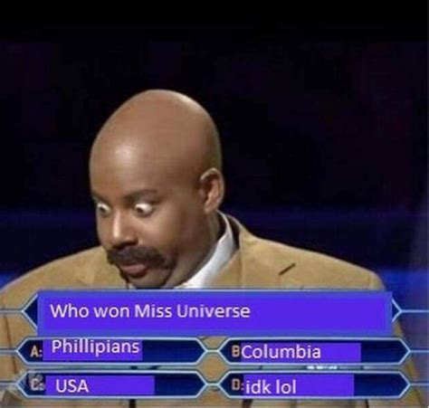 Best Memes Of All Time Steve Harvey S Miss Universe Fail Inspired Some Of The