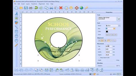 create dvd label  photoshop youtube