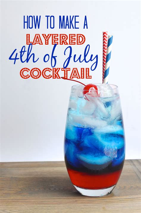 layered   july cocktail  order