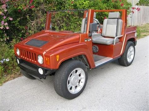 Buy New Hummer H3 Electric Golf Cart By American Custom