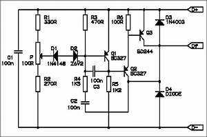 Schematic Diagram Electronic Voltage Regulator  Bmw Airhead Motorcycle