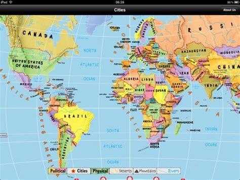 Carte Du Monde Gratuite by Un 224 La Maternelle 10 Applications 233 Ducatives Pour