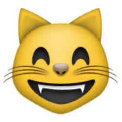 cat emoji grinning cat with smiling emoji u 1f638 u e404
