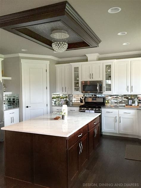 gray  white kitchen reveal kitchen ceilings modern