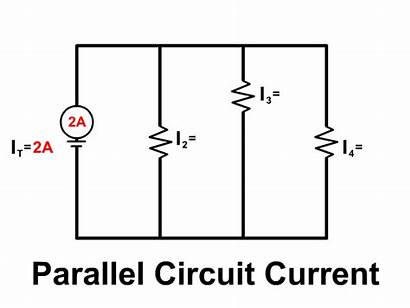 Parallel Circuit Current Physics Circuits Branch Equal