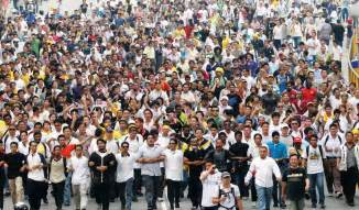 Indian People Crowd