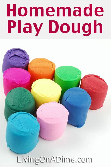 Homemade Play Dough Recipe  Easy And Inexpensive Fun For