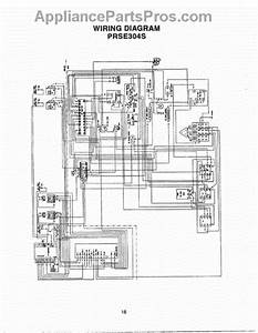 Parts For Thermador Prds304  Wiring Diagram Parts