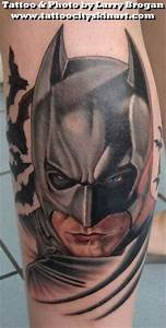 Batman The Dark Knight by Larry Brogan: TattooNOW