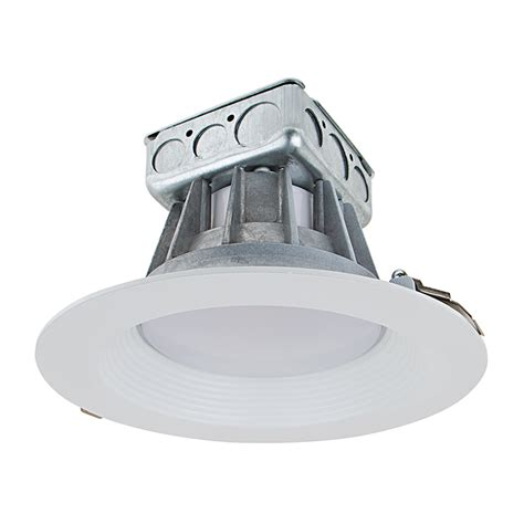 8 quot recessed led downlight w built in junction box and