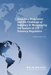(PDF) Insurance Regulation and the Challenge of Solvency ...