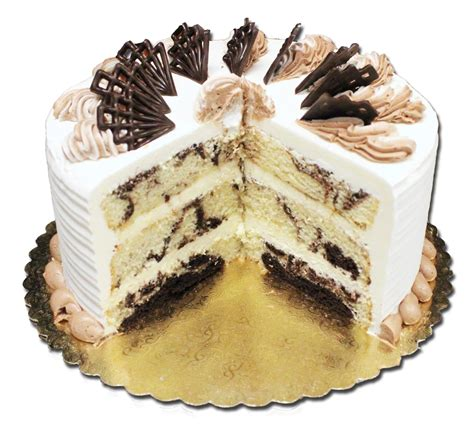 Aggies Marble French Cream Torte - Aggie's Bakery & Cake Shop