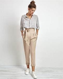 que mettre avec un pantalon beige les tendances mode de With quelle couleur marier avec le gris 5 comment porter le rose en hiver bien habillee