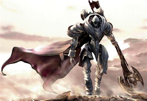 fantasy art digital art video games white knight