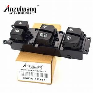 Anzulwang 93570 1e111 Power Window Main Switch 935701e111