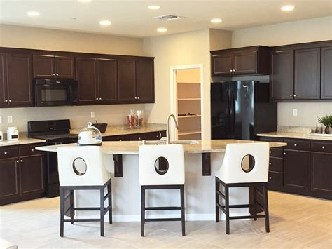 dark brown kitchen cabinets brown kitchen cabinets with white island quicua com