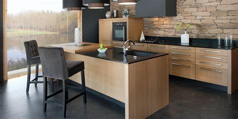 cuisine moderne en bois deco cuisine moderne bois équipement de maison