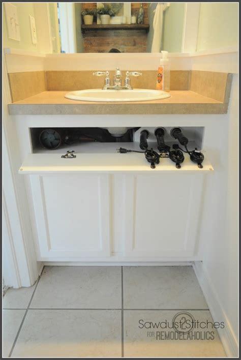 remodelaholic easy    cabinet storage drawers