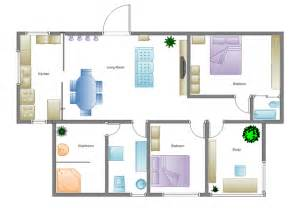 simple home floor plans building plan software edraw