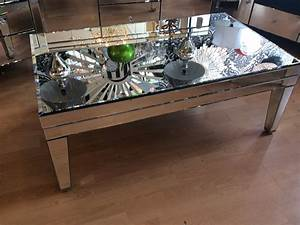 Prs group uk venetian mirror coffee table side table for Mirrored coffee table and end tables