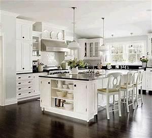 jak urzadzic kuchnie z quotlepiej pozno niz pozniejquot With kitchen colors with white cabinets with large landscape wall art