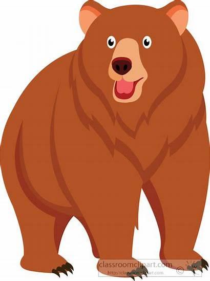 Bear Clipart Clip Animals Animal Transparent Sitting
