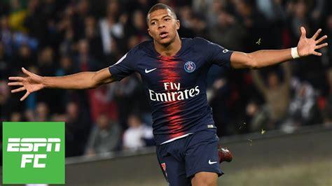kylian mbappe fuels psg   goals neymar  scores