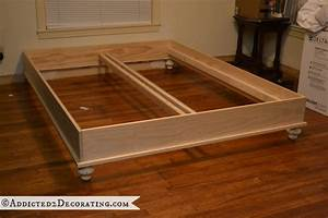 diy wood platform bed Quick Woodworking Projects