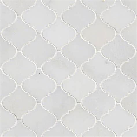 white arabesque tile greecian white arabesque 12x12 interlocking polished